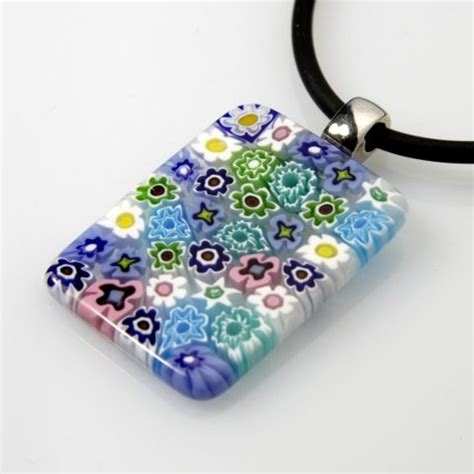A Dichroic Look by Two Lasses Glass Classes Classes Dichroic Jewelry