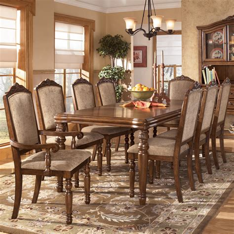 ashley dining room furniture set dining table ashley dining table set