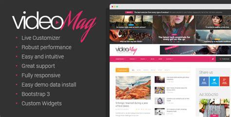 ps4 themes erstellen videomag magazin videoblog theme webdesign seo