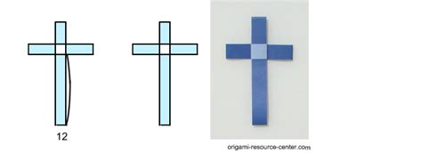 How To Make A Paper Cross - easter cross