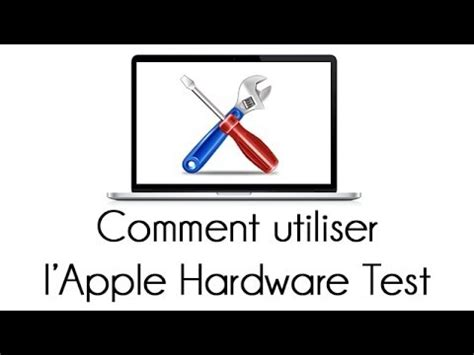apple hardware test comment utiliser l apple hardware test r 233 paration mac