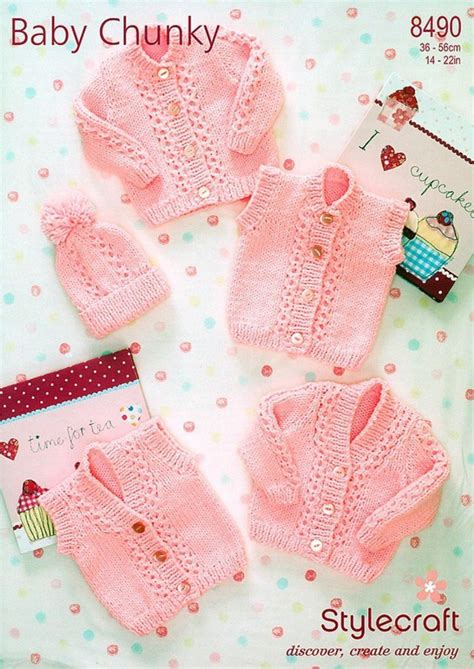 stylecraft knitting patterns to stylecraft 8490 knitting pattern cardigans waistcoats