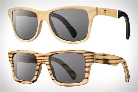 Shwood Handcrafted Wooden Eyewear - shwood louisville slugger sunglasses uncrate