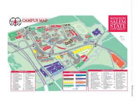 Salem State University Map by Winston Salem State University Acalog Acms