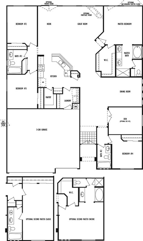 dr horton floor plans allen manor a d r horton community in northwest las vegas