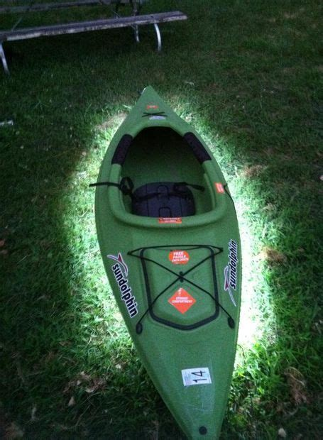 diy kayak led lights kayak fishing kayak lights