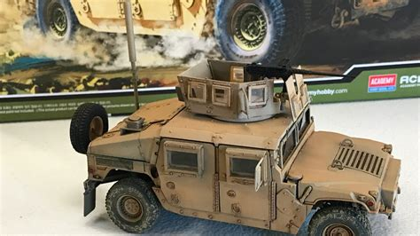 armored humvee interior building the academy models 1 35 m 1151 up armored humvee