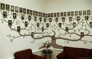 family tree murals for walls wonderful diy amazing family tree wall art