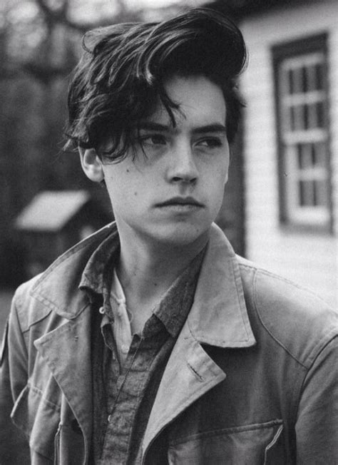 cole sprouse hairstyle