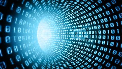 animation code binary code stock footage