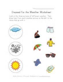 weather worksheets printables