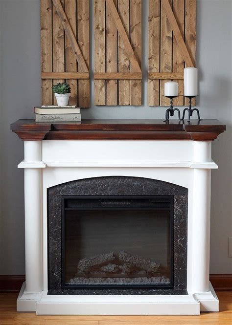 a riverstone fireplace sets the tone creative faux panels make your home your dream place with this decor dearlinks