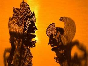 Wall Decals Murals Wallpaper theatre display of balinese shadow puppets or wayang ubud