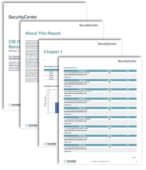 Cis Report Template Cis Oracle Benchmark Reports Sc Report Template Tenable