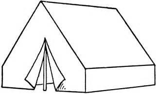 Wall Tent  ClipArt ETC sketch template