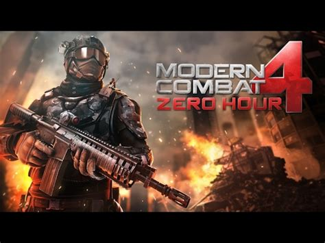 modern combat 4 apk data modern combat 4 zero hour version apk data