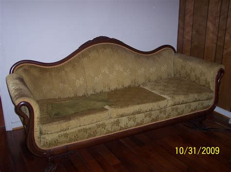 queen anne couch queen anne victoria sofa for sale antiques com classifieds