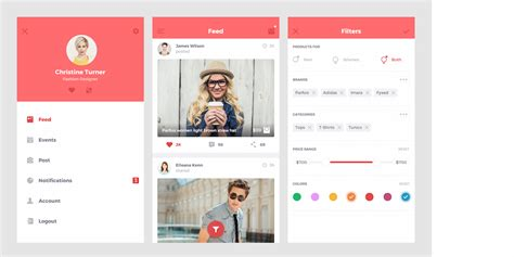 home network design app top 35 free mobile ui kits for app designers 2017 colorlib