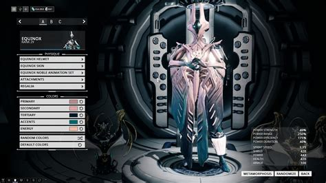 warframe color schemes warframe equinox color scheme by scream4carly