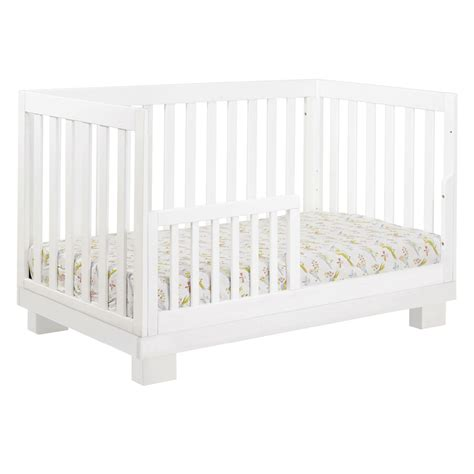 White Modo Convertible Crib By Babyletto Rosenberryrooms Com White Convertable Crib