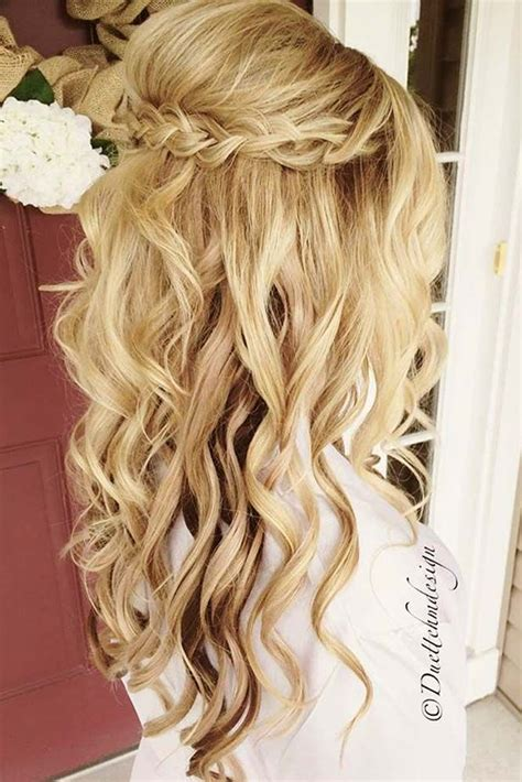 Half Up Formal Hairstyles by 25 Best Ideas About Hairstyles On Half