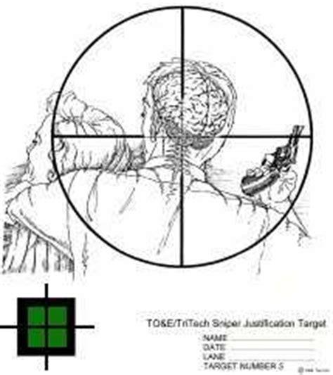 printable sniper training targets targets