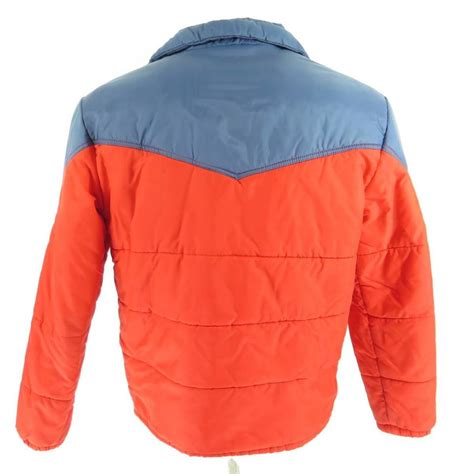 Kaos Vintage Apparel 5 Oceanseven vintage 80s op pacific retro ski winter jacket l