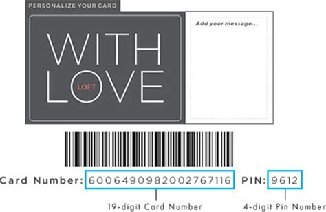 Can You Use E Gift Cards In Store - gift card loft