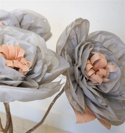 How To Make Large Paper Flowers For Wedding - grace designs my creative space paper flower