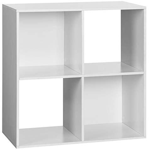 organizer 4 cube versatile white storage book