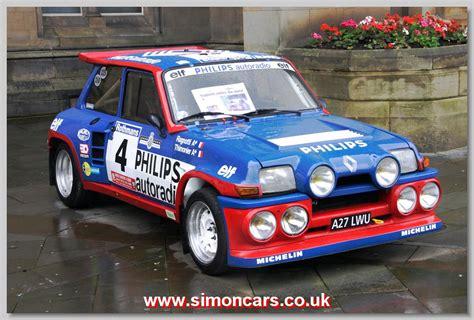 renault 5 turbo racing simon cars renault racing