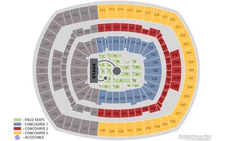 metlife stadium floor plan best view on the head full of dreams tour coldplay