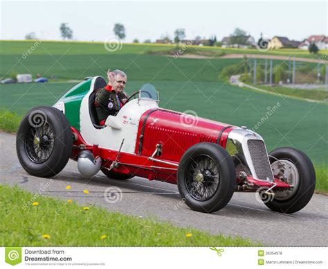 old maserati race car vintage pre war race car maserati editorial stock photo