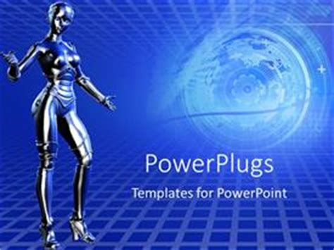 Robot Powerpoint Templates Crystalgraphics Powerplugs Powerpoint