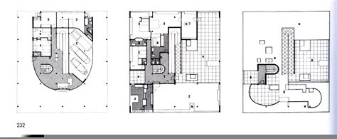 Villa Savoye Floor Plan Bathroom And Living Room Villa Savoye
