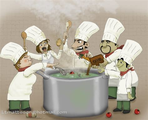 cook s ltm draw too many cooks spoil the broth