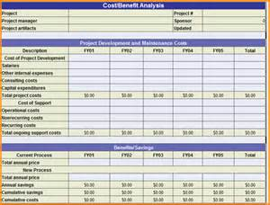 cost analysis excel template cost benefit analysis template excel cost benefit