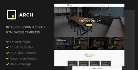html 5 base template arch decor interior design architecture and building