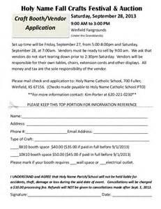 craft fair vendor registration 2013