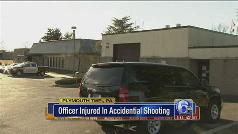 plymouth twp pa officer wounded in discharge in plymouth twp