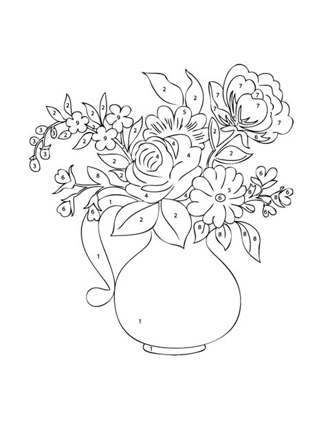 coloring pages intricate flowers intricate flower color by number pages mothers day