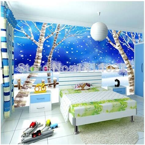 wallpaper for kid room sitting bedding room room tv setting wall 3d