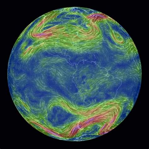 earth wind map wordlesstech real time global wind map