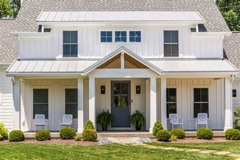 modern farmhouse farmhouse exterior cleveland by modern farmhouse high pointe custom homes llc