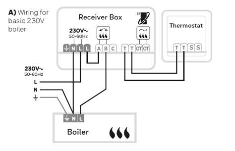 honeywell  thermostat wiring diynot forums