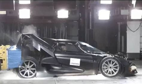 koenigsegg crash test koenigsegg regera crash test sees 163 1 4 million supercar