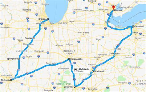 On The Road Chicago by Stati Uniti On The Road Itinerario Di Viaggio Da Chicago