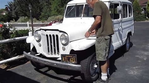 jeep wagon for 1952 willys jeep station wagon v8 3 speed runs drives