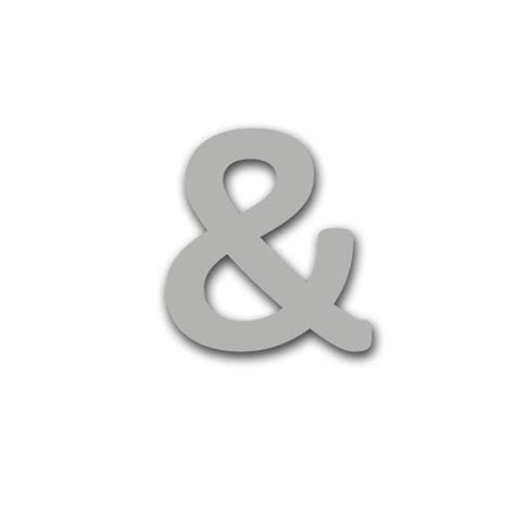 symbol for and symbol 80mm