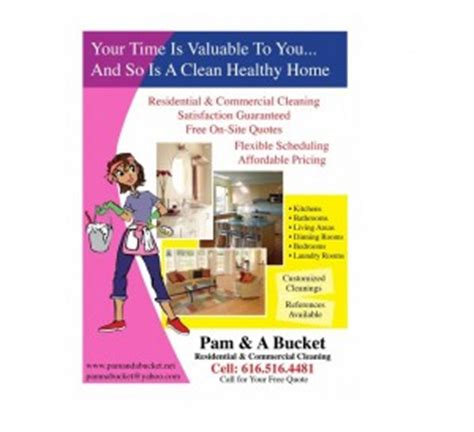 House Plan Guys by Residential Amp House Cleaning Business Flyer Examples